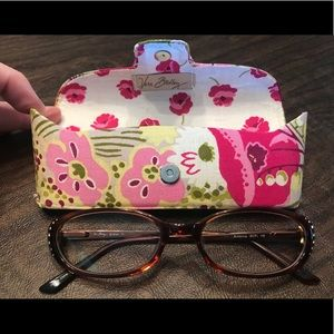 Vera Bradley Sharon eyeglasses w/ case buttercup